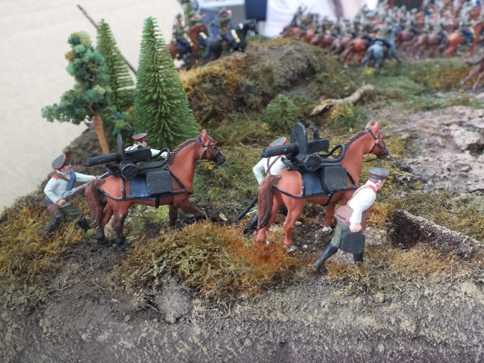 Атака  кавалерийского эскадрона РИА  в ПМВ DSCF0005(2)