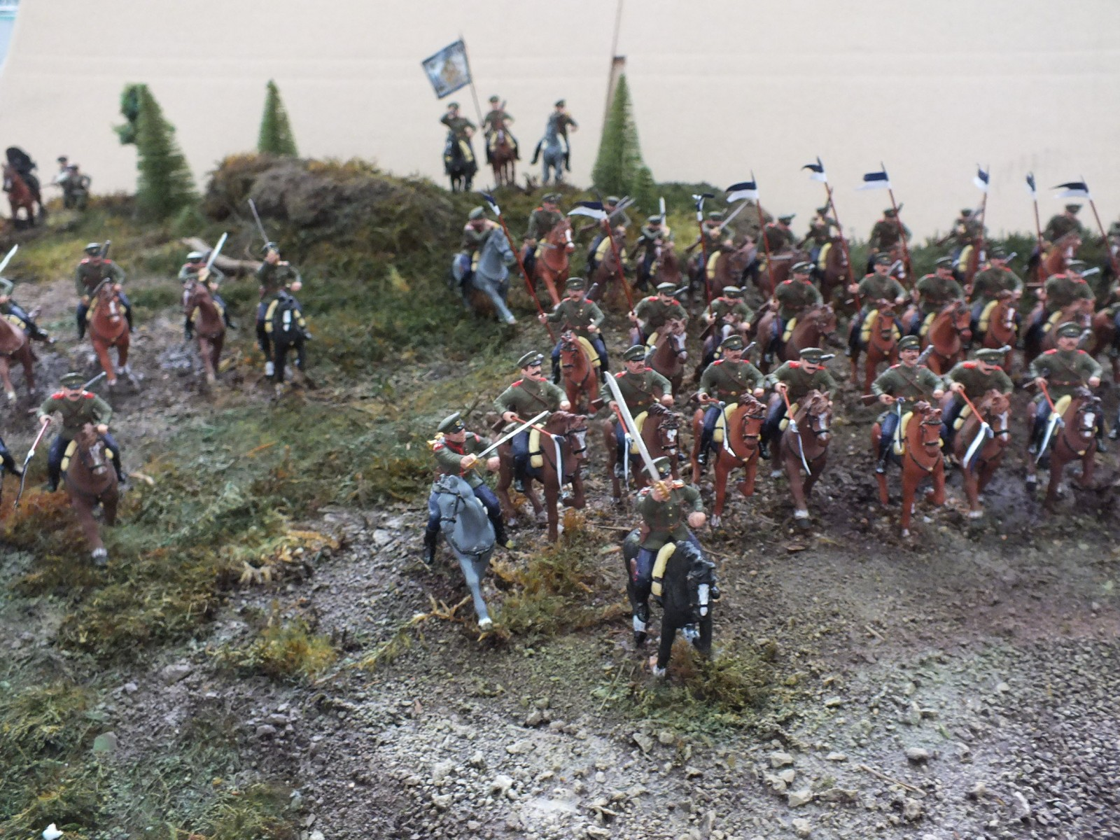 Атака  кавалерийского эскадрона РИА  в ПМВ DSCF0008(1)