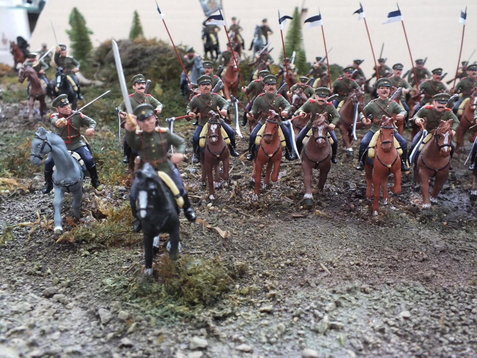 Атака  кавалерийского эскадрона РИА  в ПМВ DSCF0010(1)