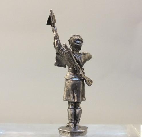 Солдаты ВОВ №52 - Сержант-регулировщик дорожной службы РККА, 1943–1945 гг.